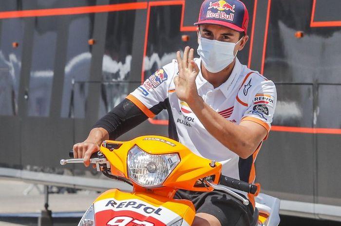 Legenda Dukung Marc Marquez Balapan Lagi Karena Ini