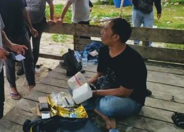 BNN Provinsi Babel Gelar Press Release Penangkapan Sabu di Teluk Limau
