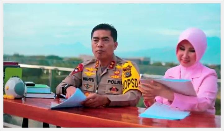 Viral, Kapolda  Luncurkan Buku Mewarnai Generasi Emas Aceh