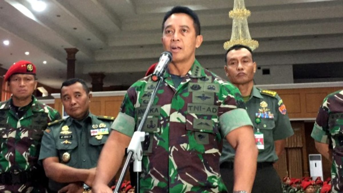 Tegas, KASAD Pastikan Pecat Anggota TNI AD Yang Terlibat Penyerangan Polsek
