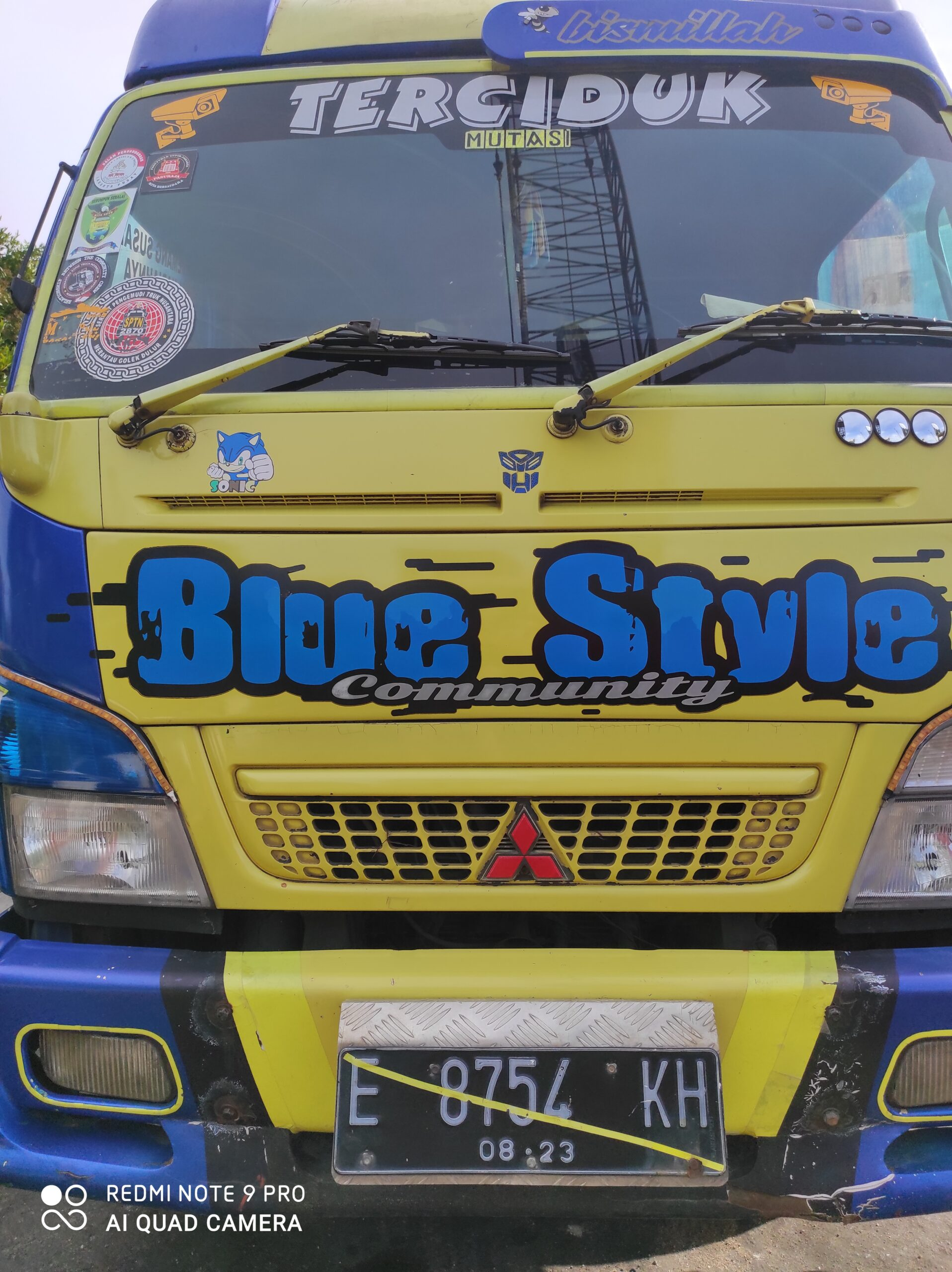 Truck Bermuatan Besi Rongsokan Nopol E 8754 KH Tertahan Di Ditpolair Polda Kepulauan Bangka Belitung Diduga Membawa Barang Ilegal Lainnya