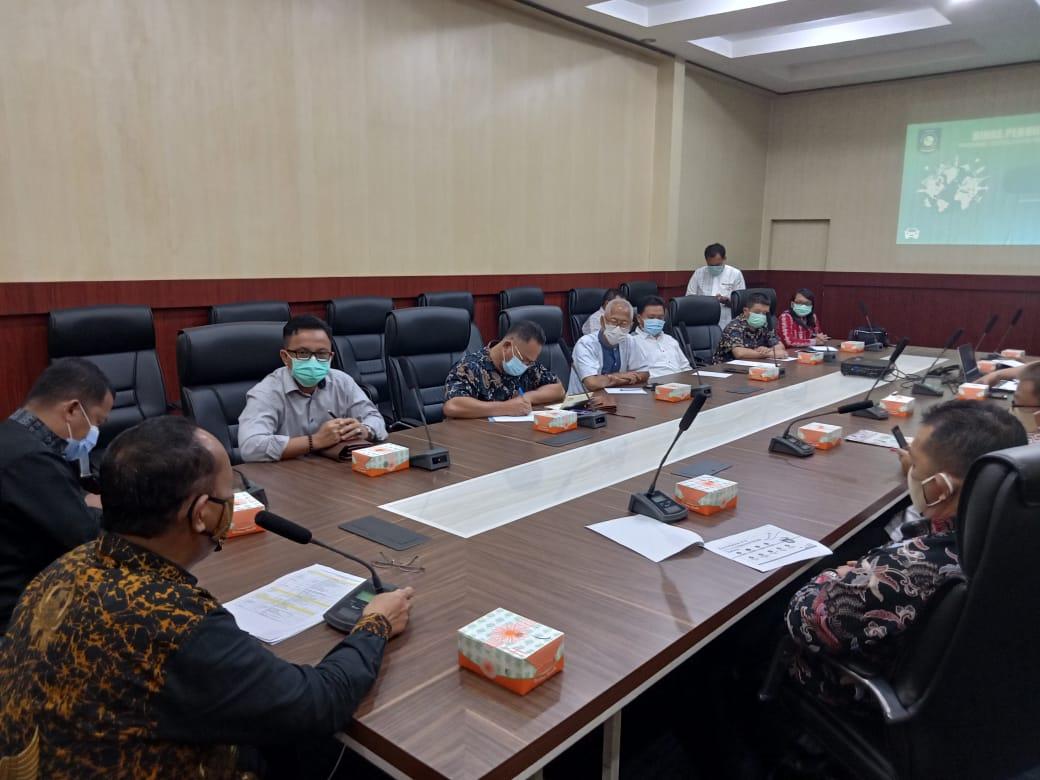 Dinas Perhubungan Provinsi Terima Audensi Komisi I DPRD Kabupaten Belitung