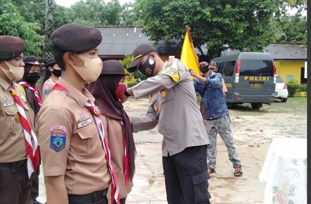 Kapolsek Toboali Kukuhkan Dewan Saka Bhayangkara