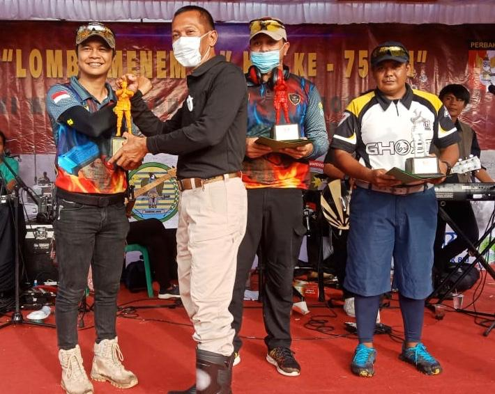 Raka Shooting Club  Merajai Di Kejuaraan Lomba Menembak HUT TNI Ke-75