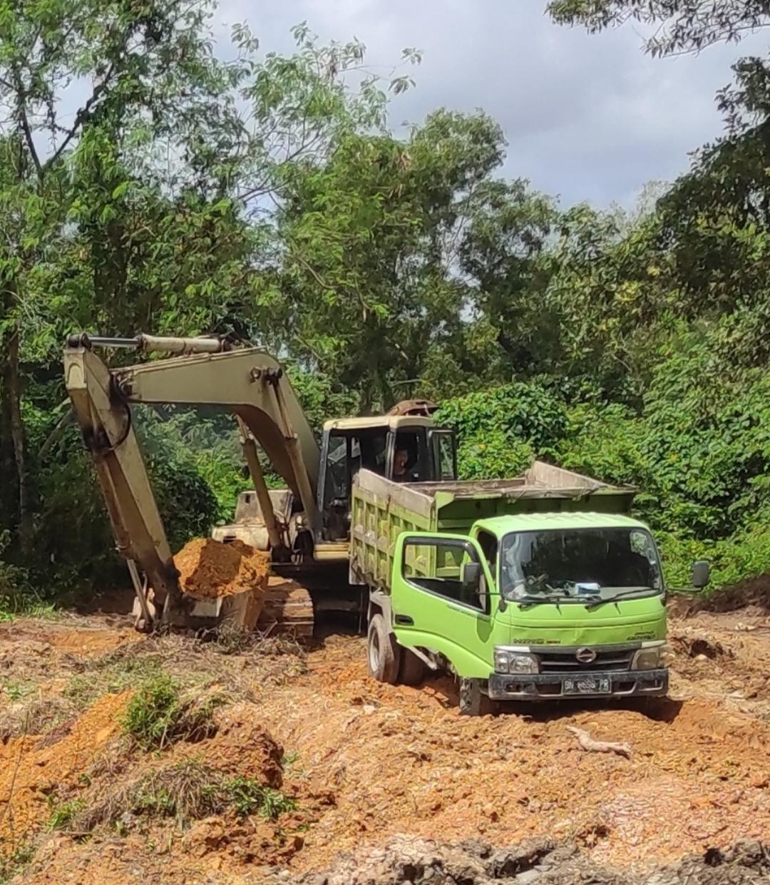 Polresta Pangkalpinang Tertibkan Aktifitas Tambang Pasir Dan Timah Ilegal Dikawasan RTH Parit Enam