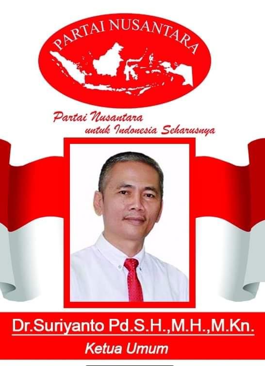Ketum Partai Nusantara : Parpol Harus mampu Menjalankan Fungsinya Dengan Optimal