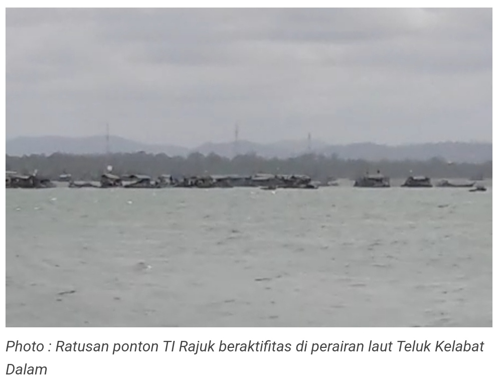Ada AH Cukong Timah Di Laut Bakik, Bambang Pun 'Tenggelam'