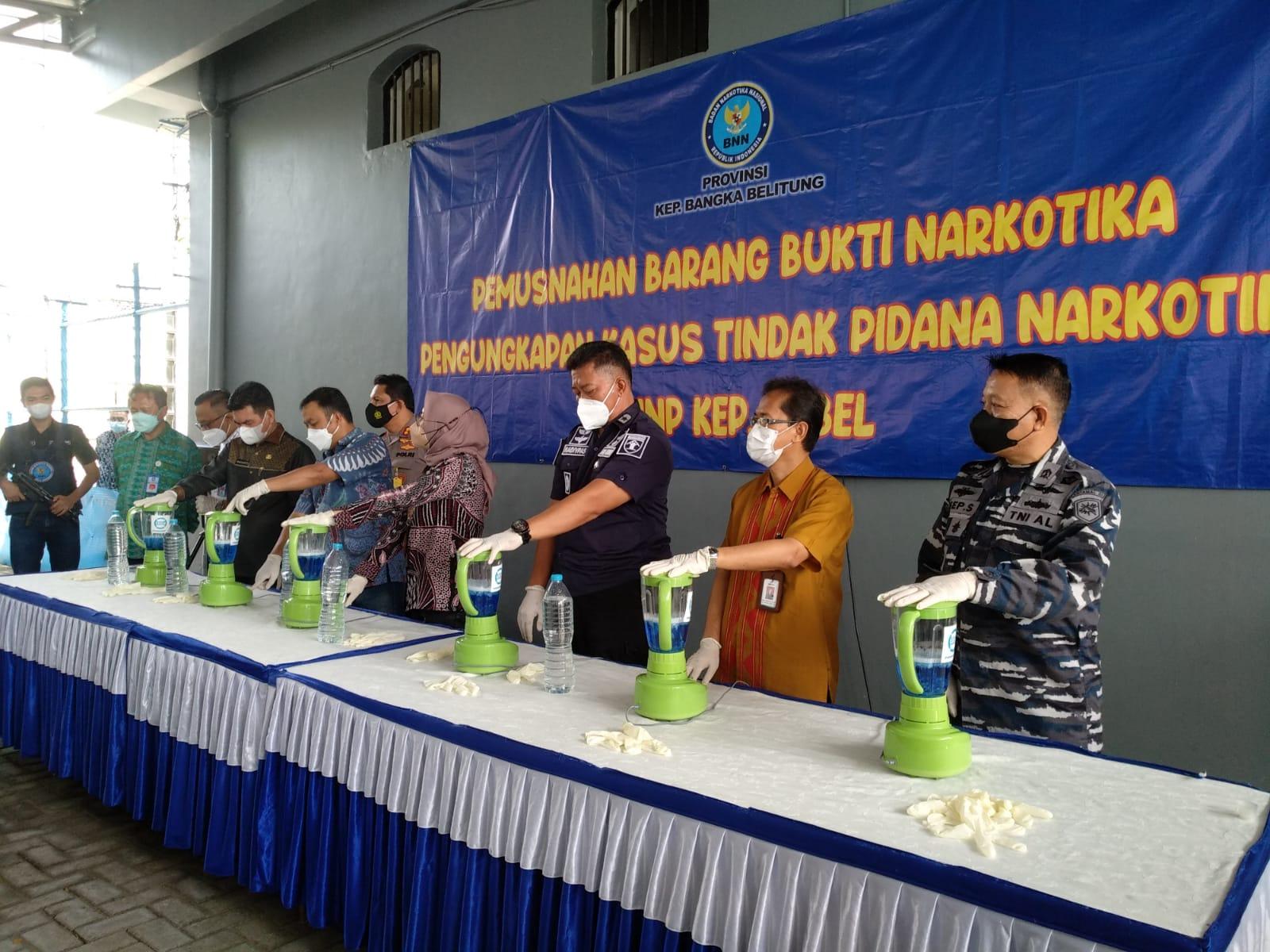 Tim Gabungan Sikat Mertua dan Menantu Pembawa Barang Haram (Sabu)