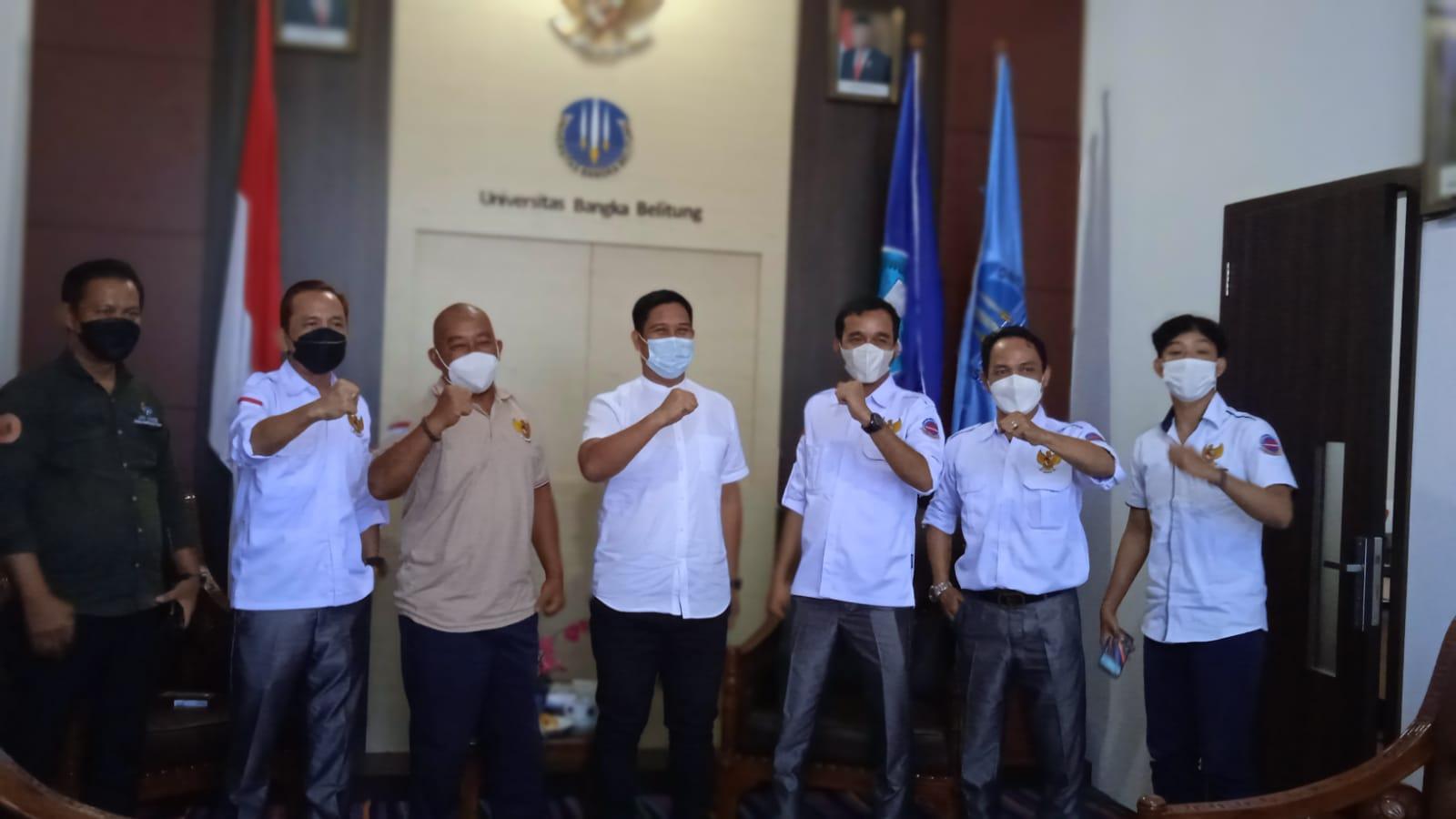 KBO Babel Bertandang Ke Kampus UBB, Ini Yang Diungkapkan Oleh Rektor Termuda Di Indonesia
