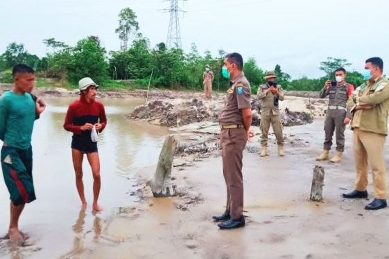 Merusak Sumber Air Warga, Satpol PP Bateng : Siapapun Akan Kami Proses Hukum