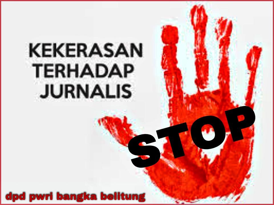 Ketua DPD PWRI Bangka Belitung Mengecam Keras Aksi Kekerasan Pada Wartawan di Dumai